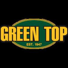 Green Top  Bullet Head Troll Lure 6 Oz. Glow white